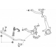 Adventure Driven | Lexus GX 470 Front Suspension kit (With KDSS)